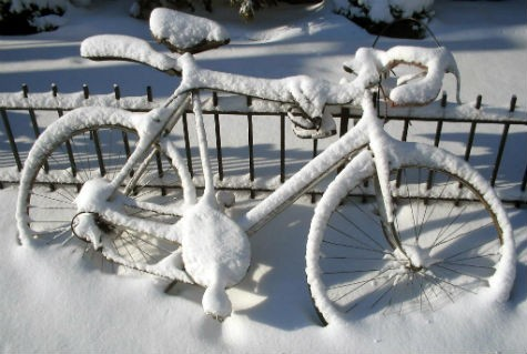 snow-bike